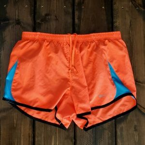 Orange & Blue Nike Shorts